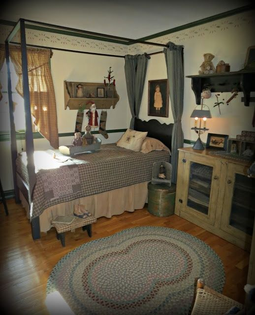 36 Stylish Primitive Home Decorating Ideas: 1000+ Ideas About Primitive Country Bedrooms On Pinterest