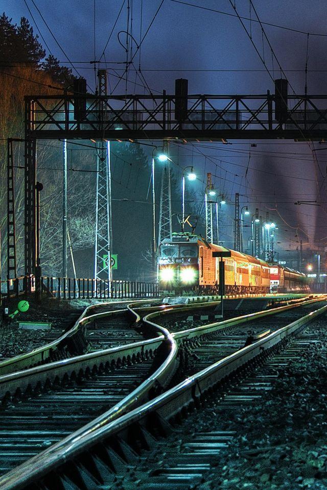 обои поезда вертикальные помощью