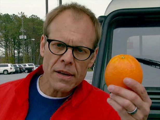 Learn how eating from four basic food groups helped Alton Brown lose 50 pounds.