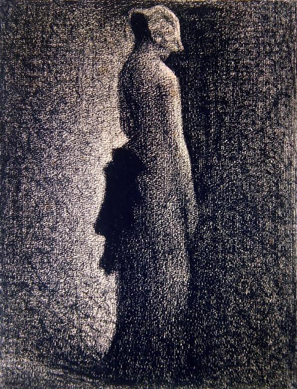 3394206661b5c1c19efec34bee429e5f  george seurat impressionist paintings » Seurat Conte Drawings