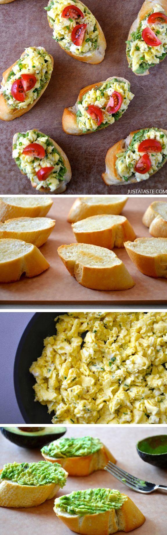 Quick and Easy Breakfast Bruschetta