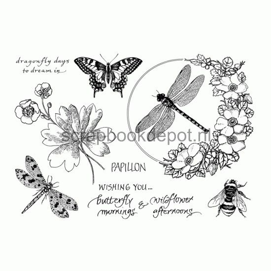 Crafty Individuals Rubber Stamps CI-410