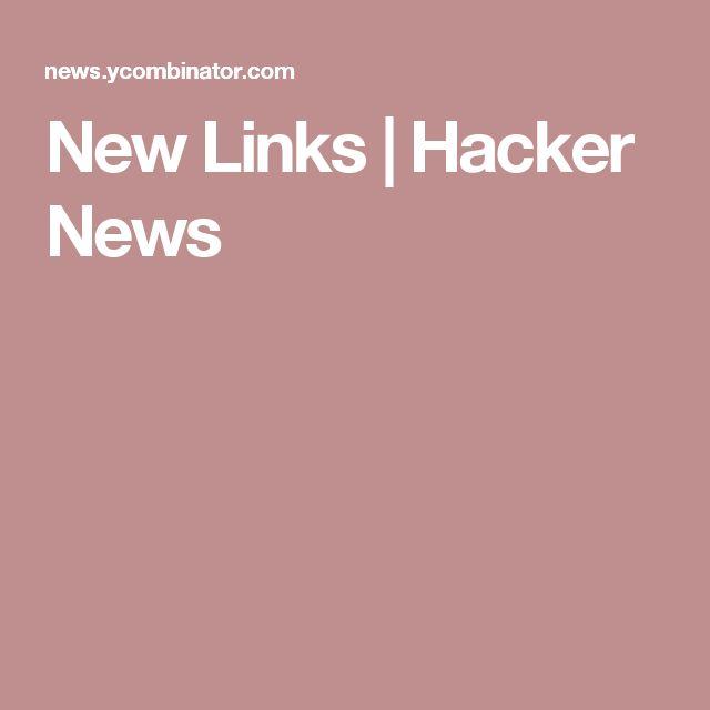 New Links | Hacker News
