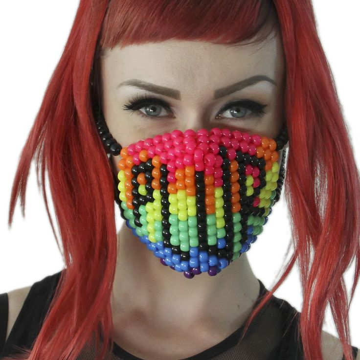 Do you participate in mass dances? Love Electronic Music and Dance? Well acquitted of Rave events? Then you must be well familiar with PLUR. Kandi Gear has come up with Rainbow Plur Surgical Kandi mas