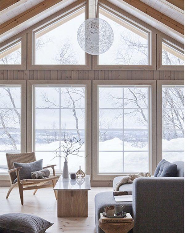Oggi sul blog uno chalet in Norvegia pieno di pezzi di design. Diamo uno sguardo?
