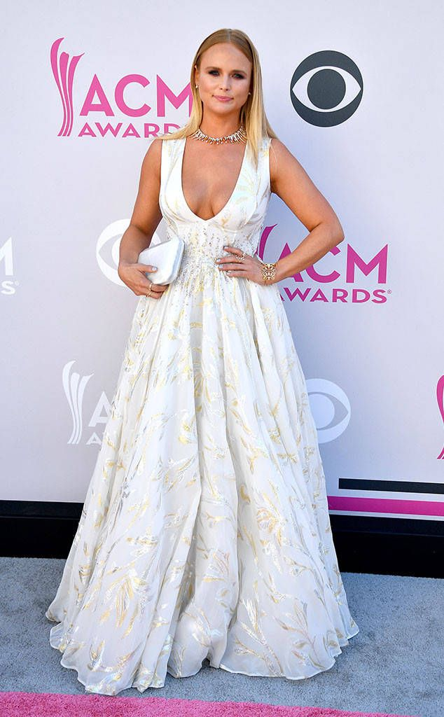 """Miranda Lambert from ACM Awards 2017: Red Carpet Arrivals The """"Vice"""" singer is having a major princess moment in her plunging ball gown."""