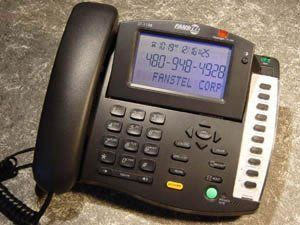 """Fanstel FAN-ST118B Large Screen 3-Line Display Phone with Caller ID by Fanstel. $71.81. Big Screen Caller ID Phone - Giant display corded telephone - 99# Name/number Caller ID log - Caller ID, call waiting caller ID - Ultra large fonts for name and number display - Voicemail waiting indicator: flashing LED and """"messages"""" display on LCD - New call indicator: flashing LED and new call counter - Supports both Bellcore and ETSI call waiting caller ID interfaces - ..."""