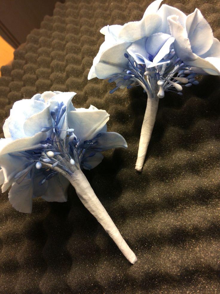 Hydrangea for weddingcake