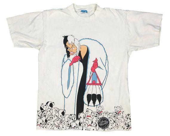 Vintage 101 Dalmatians 1990s T-Shirt Dress