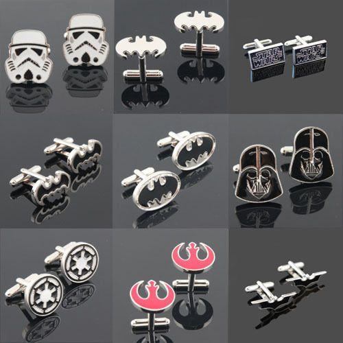 Star Wars Galactic Empire Stormtrooper Rebel Alliance Batman Cufflinks Party   eBay