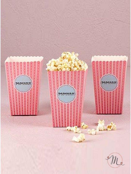 Box pop corn romantic. Box porta pop corn tema romantico.  Box in cartoncino…