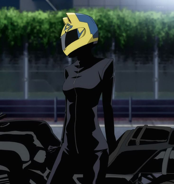 durarara+celty | hot black motorcycle rider is seen in ...