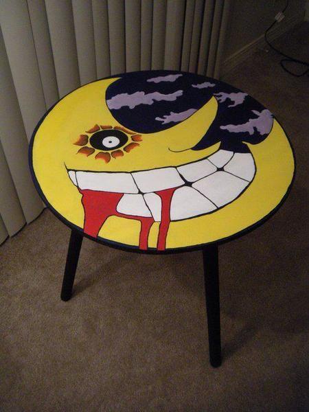 I SOOOOOOO wanna paint a table like this!!!!!