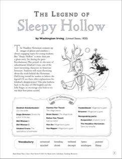 a literary analysis of the legend of sleepy hollow Unlike most editing & proofreading services, we edit for everything: grammar, spelling, punctuation, idea flow, sentence structure, & more get started now.