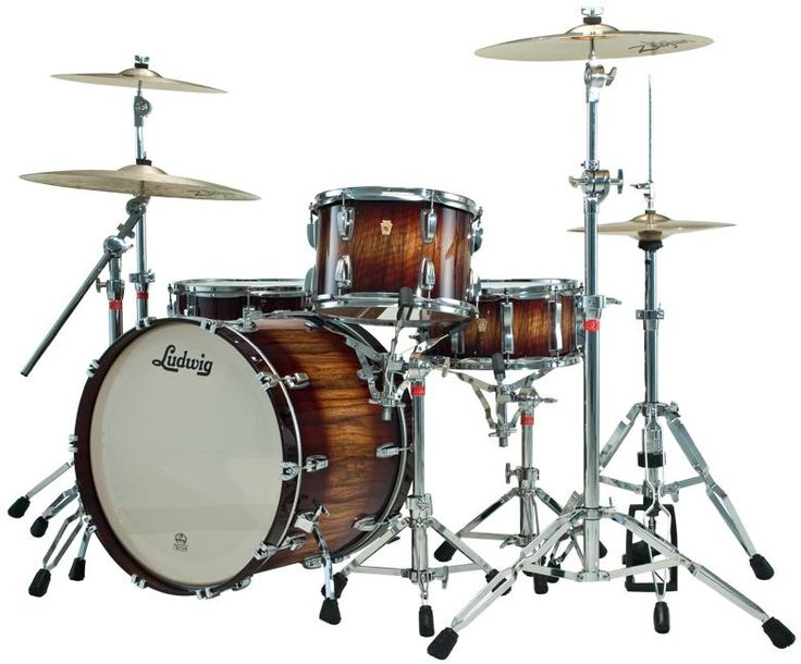Ludwig Drum Sets | ... Natural Mahogany | Find your Drum Set | Drum Kits | Gear | Percussion