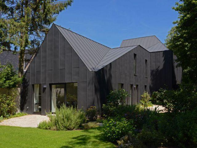 1000 id es propos de bardage m tallique sur pinterest toit en m tal et p - Bardage metallique maison ...