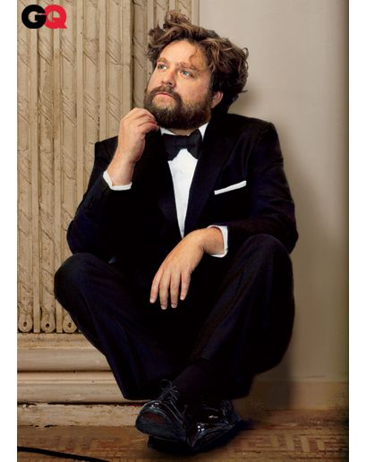 Zach Galifianakis, I think I love you.