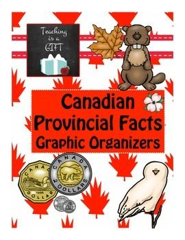 Provincial Facts Graphic Organizer/Poster Printable