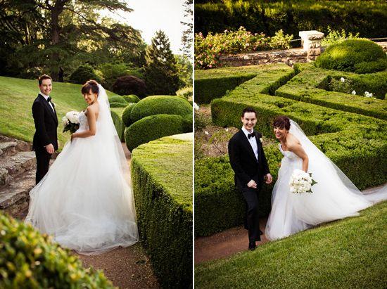 Zahrine And Asher's Romantic Milton Park Wedding