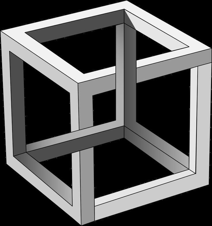 MC Escher's Impossible Cube