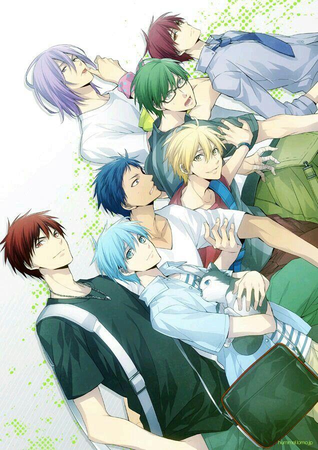 La génération des miracles Kuroko, Manga, Mec anime