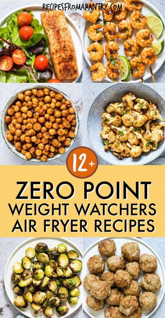 All of the weight watchers air fryer recipes included here