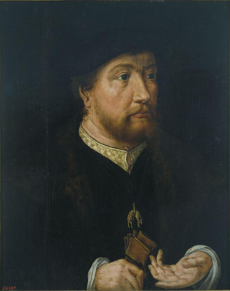 1530-1532 Jan Gossaert - Portrait of Henry III, Count of Nassau