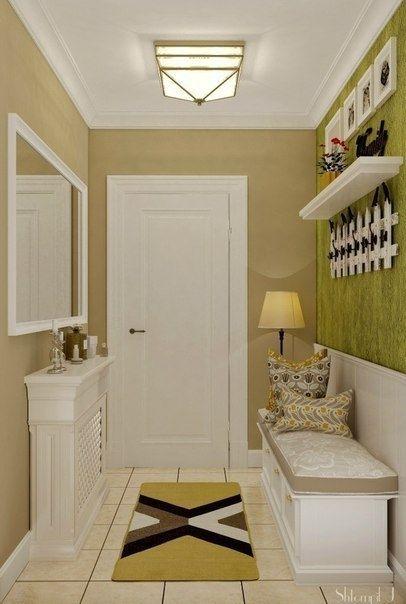 Идея для маленькой прихожей - Дизайн интерьеров | Идеи вашего дома | Lodgers