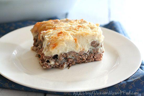 Easy Cheesy Shepherd's Pie with Cauliflower