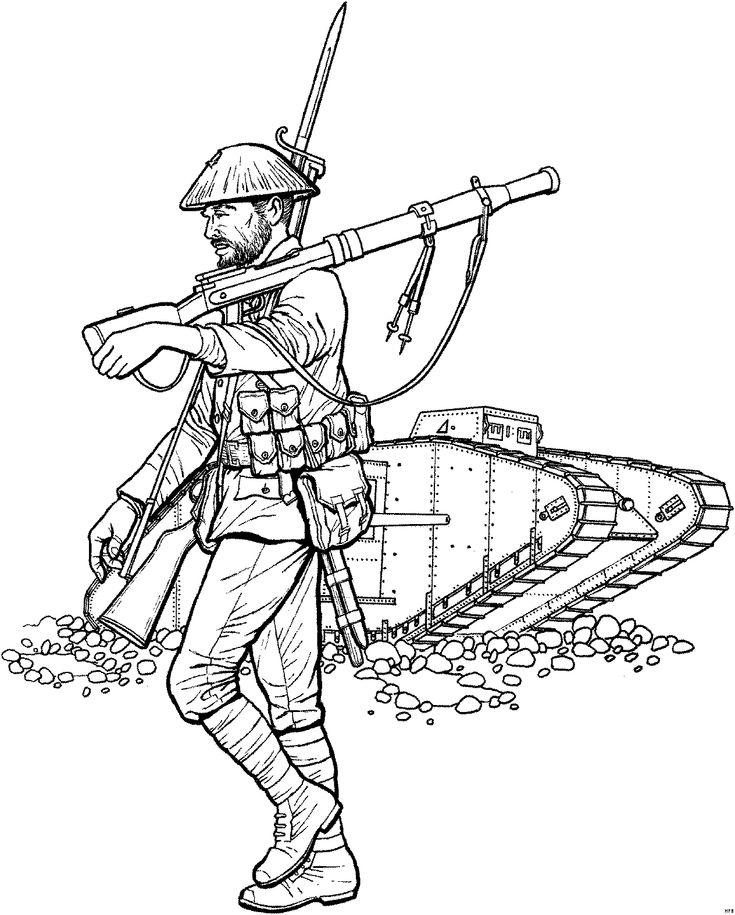 militar ausmalen coloringpagesforkids kids art