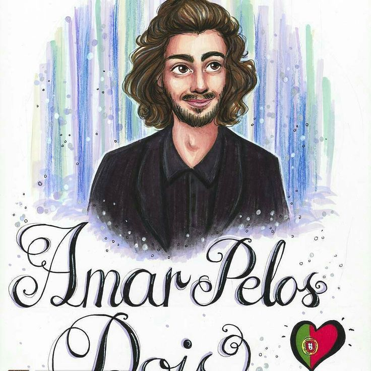 "@Regrann from @alex_martinspt -  @Regrann from @maa_riaria -  Another one of my favorites this yearis Portugal  and Salvador Sobral's song ""Amar Pelos Dois""  It's such a beautiful song and I wish him good luck in the grand final on Saturday  And also good luck to his sister Luisa Sobral  #art #drawing #instaart #draw #illustration #sketch #sketching #promarker #markers #doodle #eurovision #esc #salvadorsobral #salvadorable - #fromnorwaywithlove #ESC2017 #POR #12Points #amarpelosdois…"