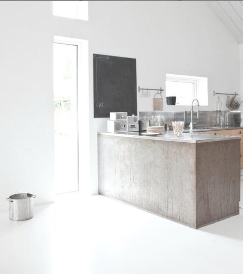 Concrete Kitchen