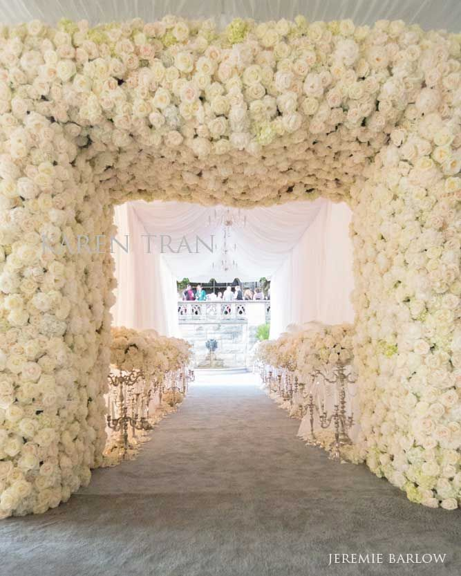 Incredible Entrance To A Wedding Ceremony Idea From Karen