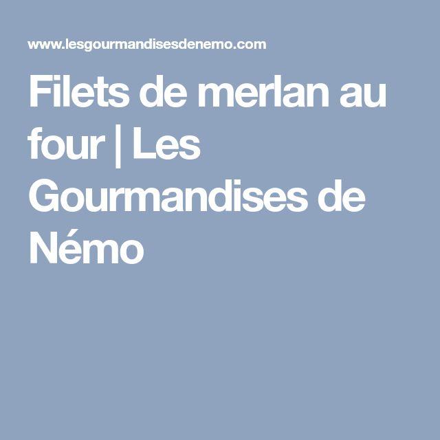 Filets de merlan au four | Les Gourmandises de Némo