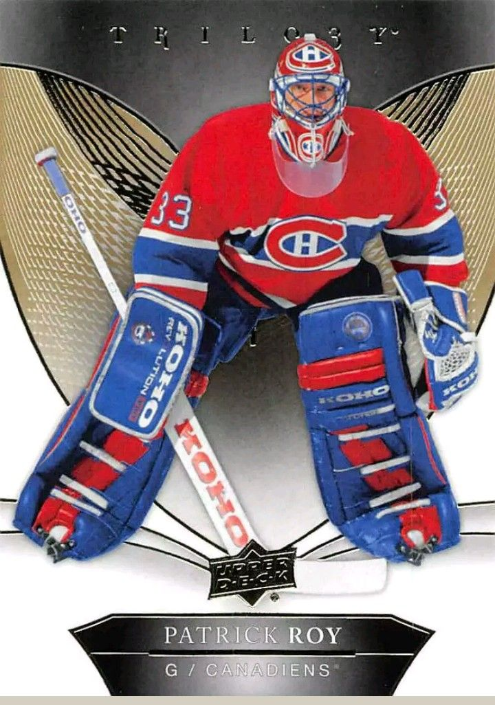 Pin By Durr Gruver On Upper Deck Hockey Cards Montreal Canadiens Canadiens Montreal