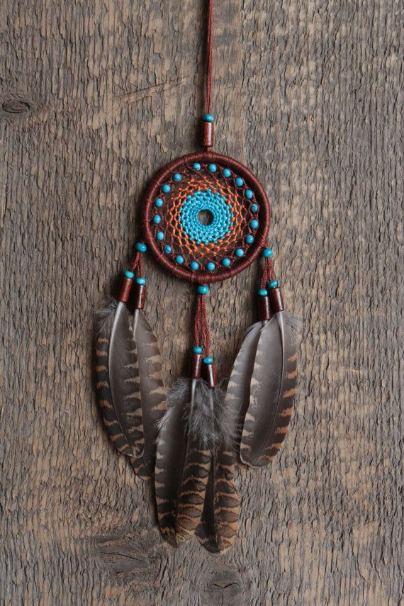 Dream catcher/Small dreamcatcher/Car by MyHappyDreams on Etsy