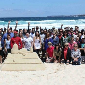 Beach team fun. Autralia's premier team building events. http://teambuildingaustralia.com.au