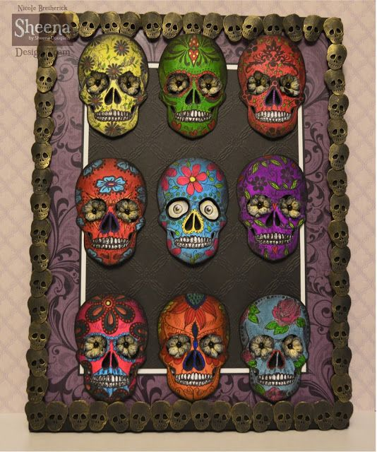 "Nicole Bretherick Designs: Sheena Douglass ""Day Of The Dead"""