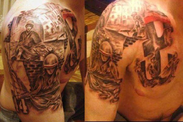 Tatuaż Patriotyczny Tattoos Tatuaż Tatuaże I Wzory Tatuaży