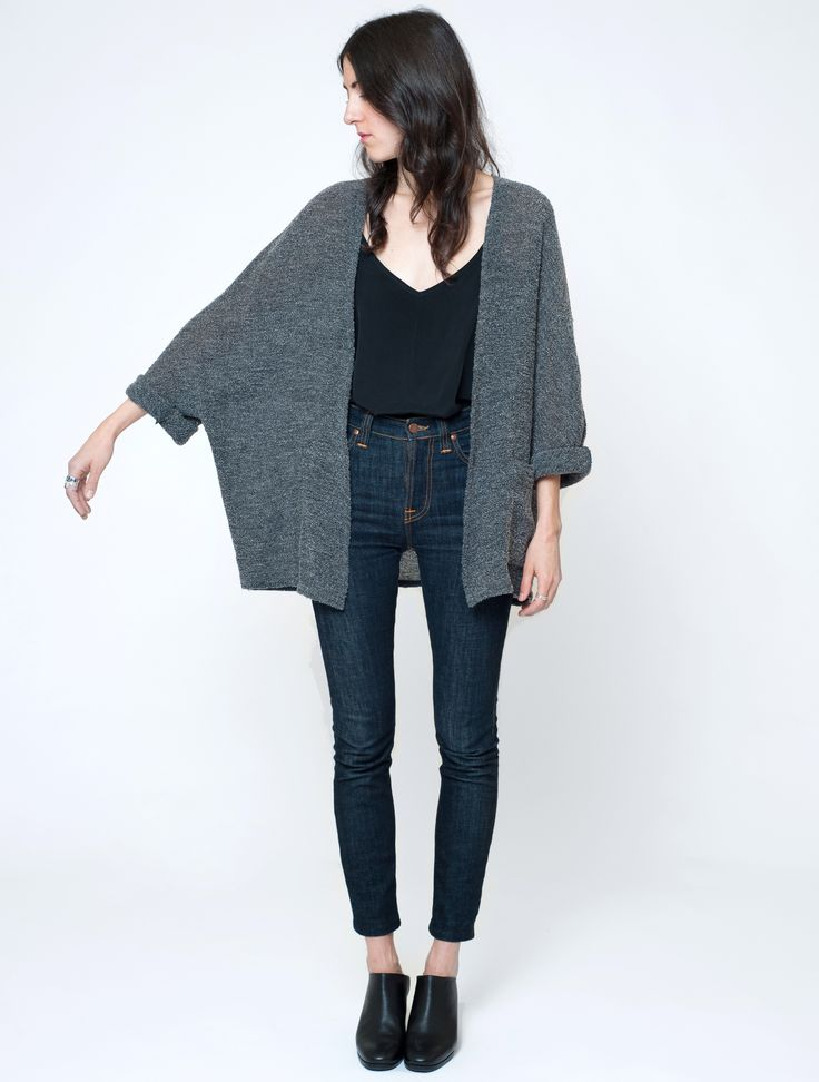 First Rite wool-boucle cape