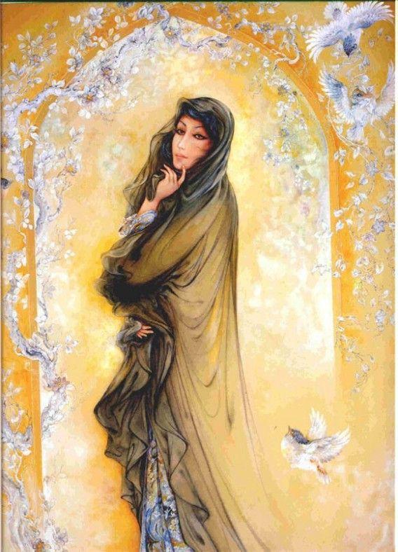IMahmoud Farshchian ! Persian Miniature Paintings