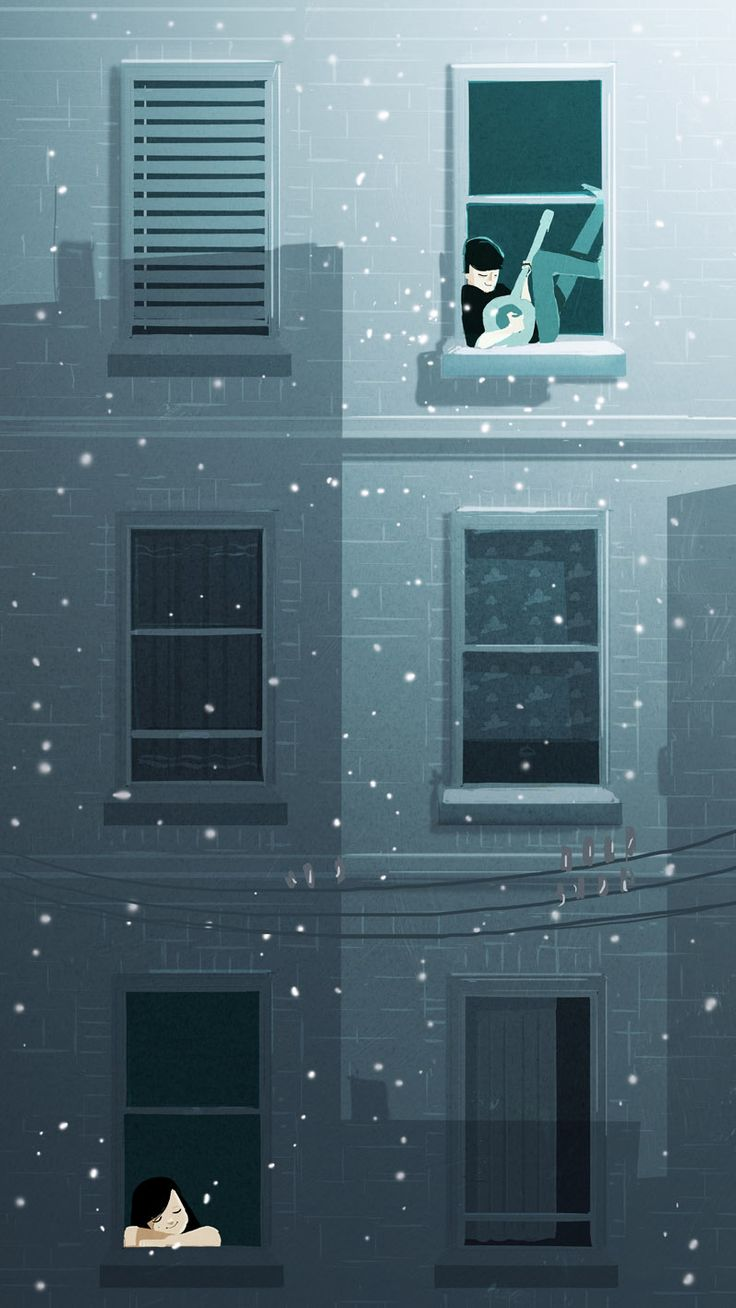 """It came from above"", by Pascal Campion. I know I've already pinned this but it's just so beautiful!"