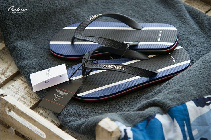 Essential Summer Footwear, Aston Martin by #Hackett Flip Flops. Omberon Style Fashion. © Vicky Lafazani