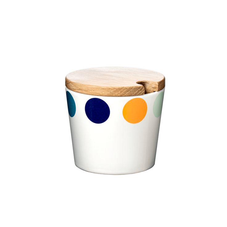 Bowl, Dot, small, with lid