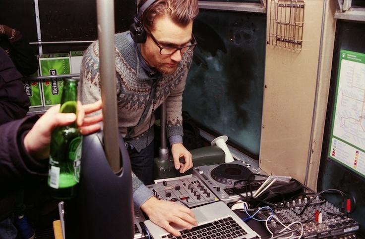Disco Dislocated - a rave in a effin´ tram! Helsinki, Finland 3.2.2012.