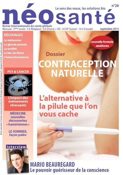 Dossier contraception écologique paru dans Neo Santé N°26