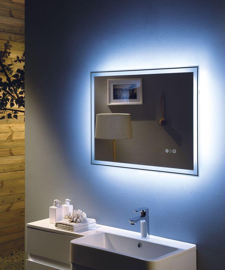 43 best Bathroom Vanity & LED Mirror images on Pinterest | Led ...
