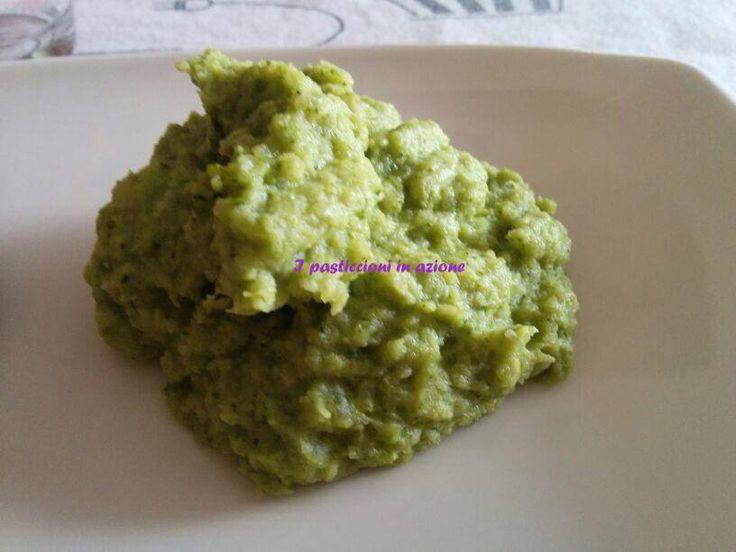 #Purè di #broccoli all' aglio #ipasticcioniinazione