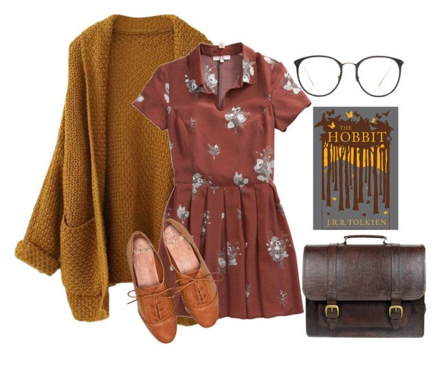 """Day at the library"" by samarayared on Polyvore"