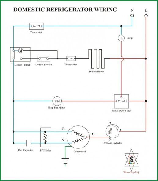 Wiring Diagram For Refrigerator - Machine Repair Manual on